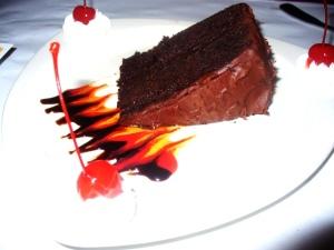 Chocolate Cake Blossom Deli