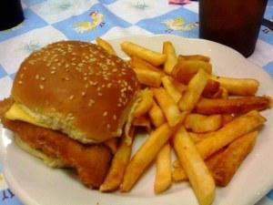 Fish Sandwich The Grill Charleston WV