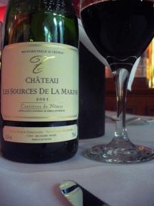 2001 Chateau Les Sources De La Marine Shyrah