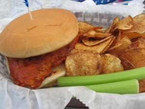 Griff's Buffalo Sandwich - $7.50