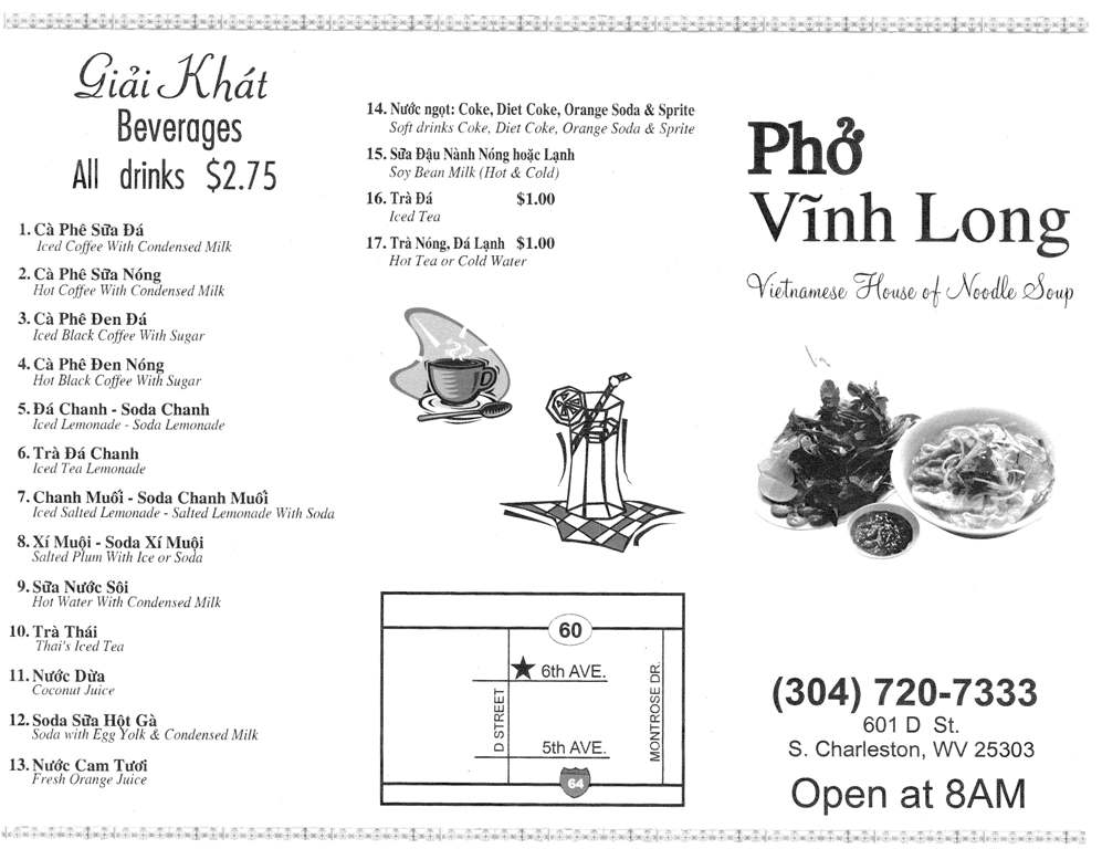 Grand Opening Pho Vinh Long Fork You
