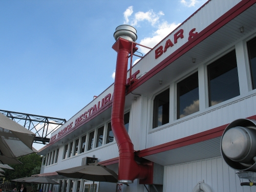 The Barge Bar exterior
