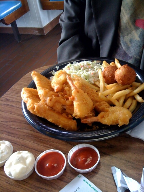 long john silver phil fried meal