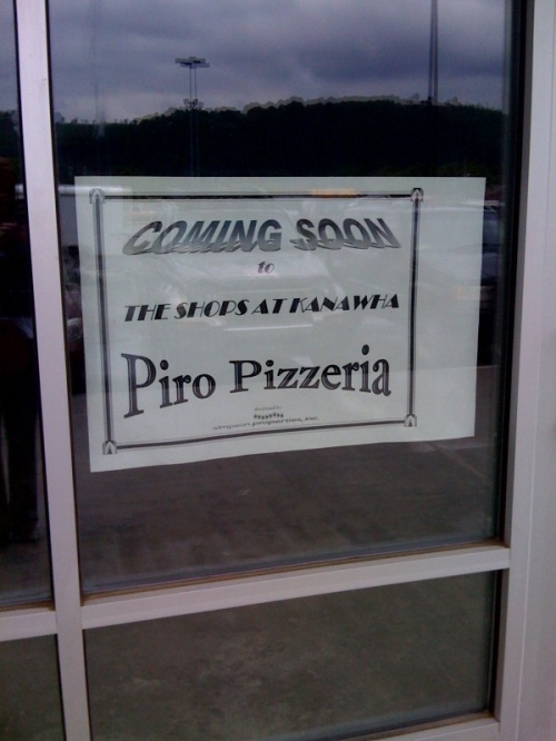 new pizza place in kanawha city