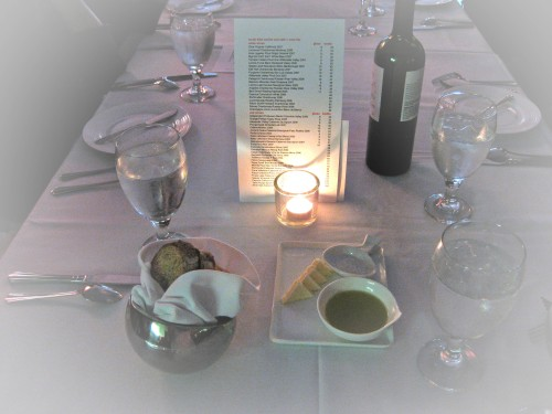 shmc table setting