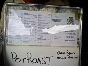 bears den menu