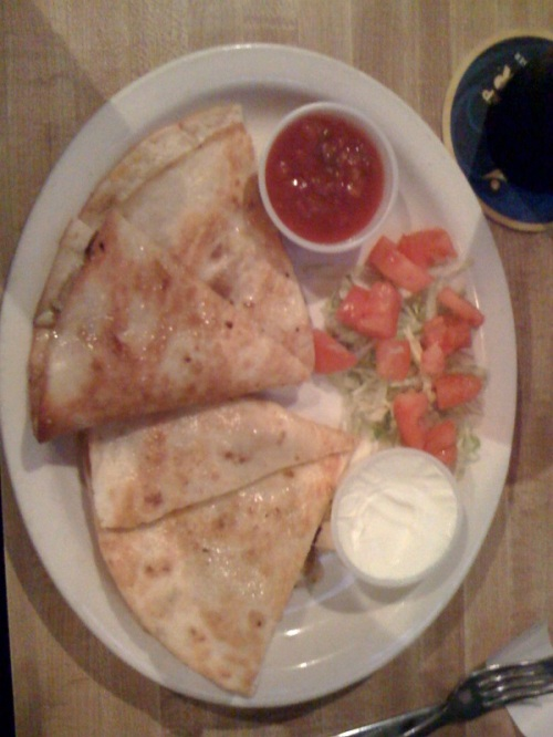 bears den quesadilla