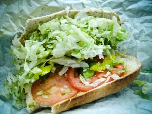 sheetz turkey sub