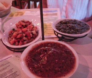taco boy salsa trio