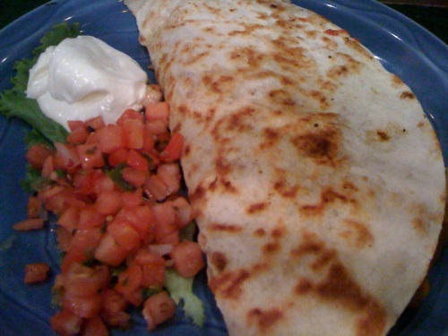 chilli willi quesadilla