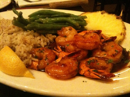 alpha shrimp entree